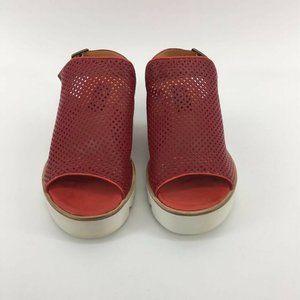 Everybody By BZ Moda Womens Sandals Red